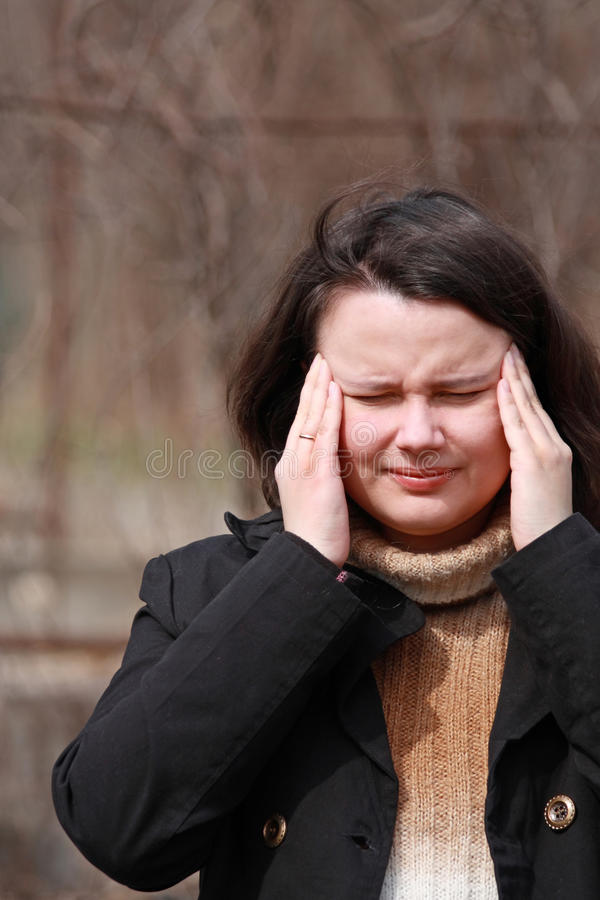Free Migraine Royalty Free Stock Photography - 10240947