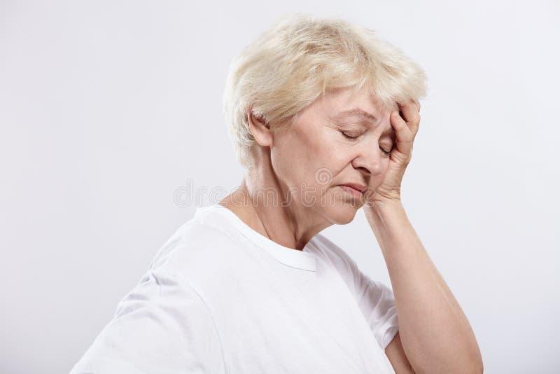 Migraine stock foto's