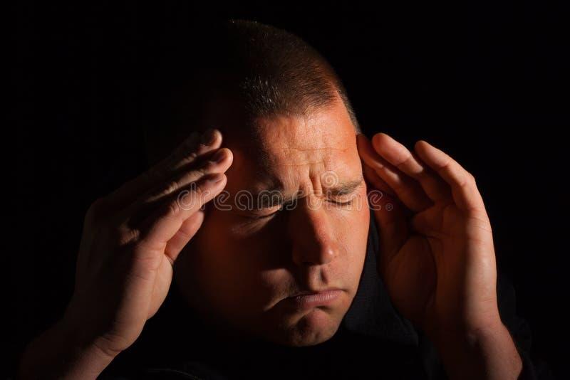Migraine royalty free stock image