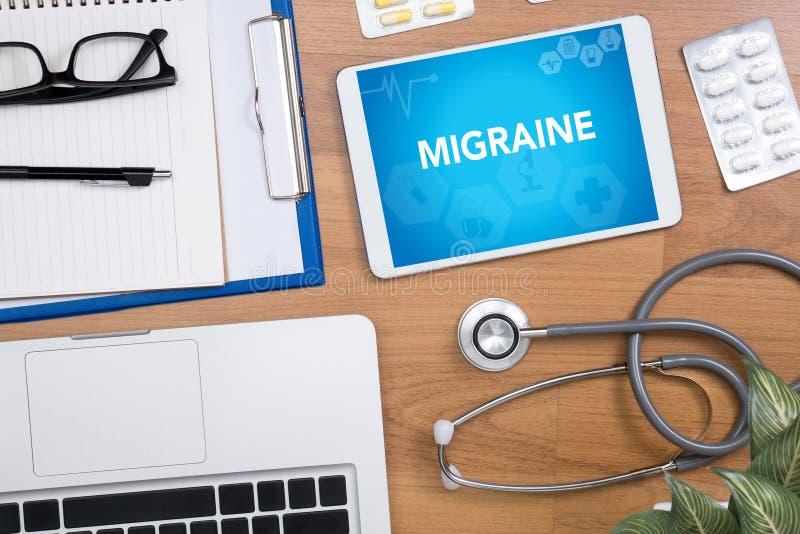 migraine photos libres de droits