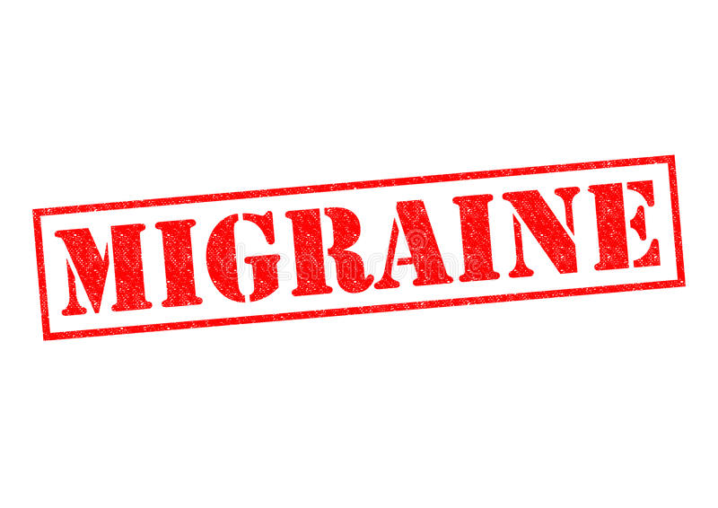 migraine vector illustratie