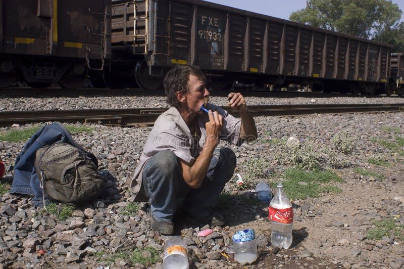 Migrant non documenté photos stock