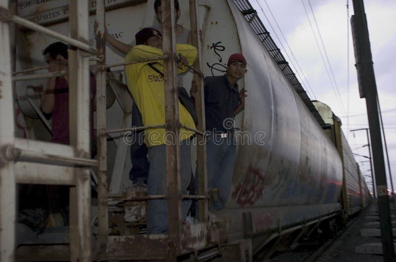 Migrante non documentato fotografie stock libere da diritti