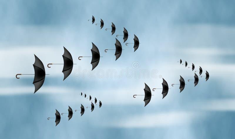 Migration stock illustration