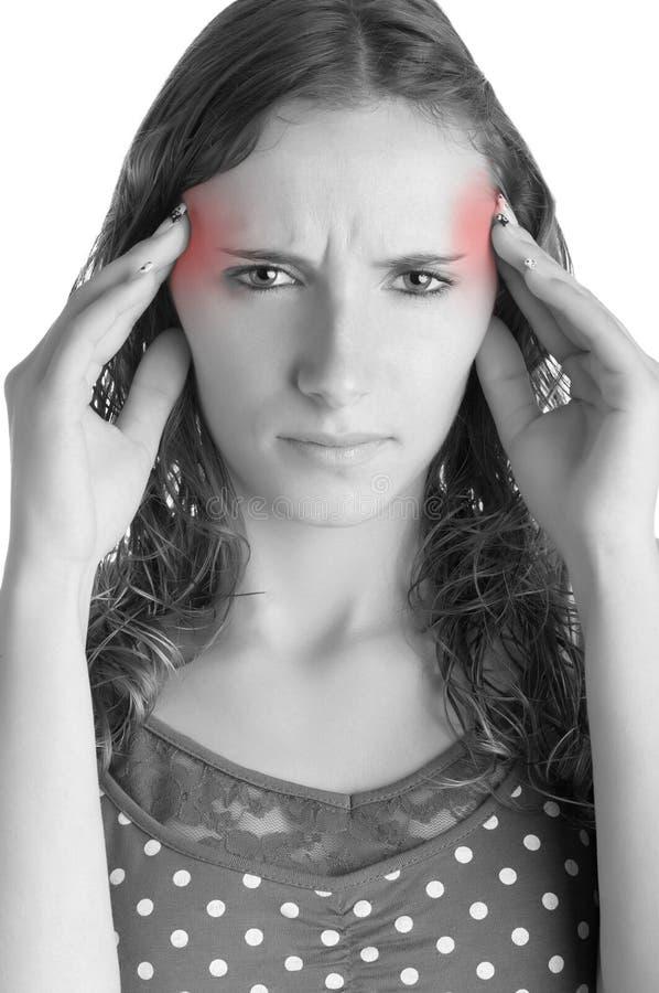 Download Migrena obraz stock. Obraz złożonej z painkiller, bezsenność - 29391093