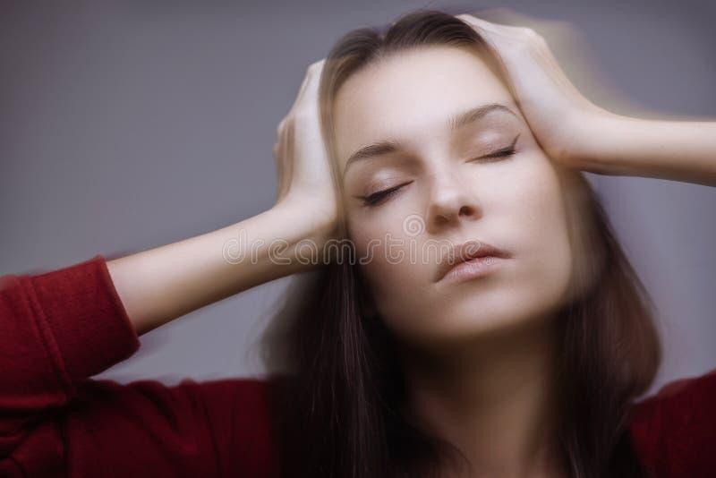 Migrena obraz royalty free