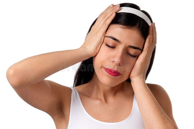 migrena ból obrazy stock