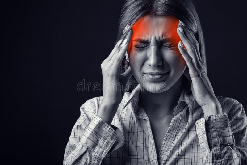 Migrena obraz stock