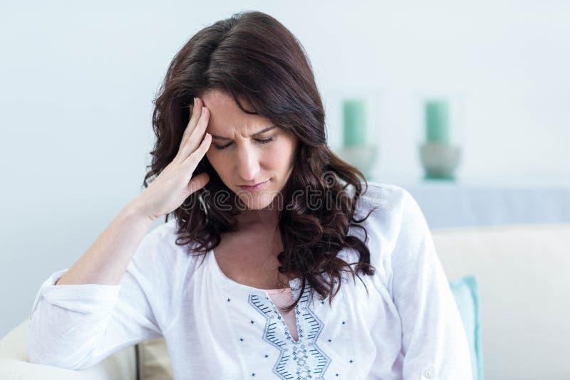 migreny kobieta w ciąży obrazy royalty free