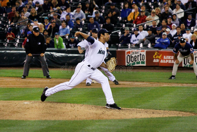 Download Miguel Batista Mariners Baseball Player Editorial Photo - Image: 14962481