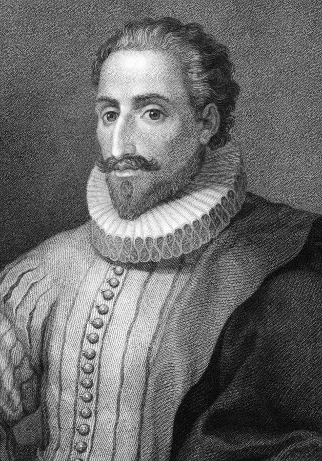 Miguel de Cervantes images stock