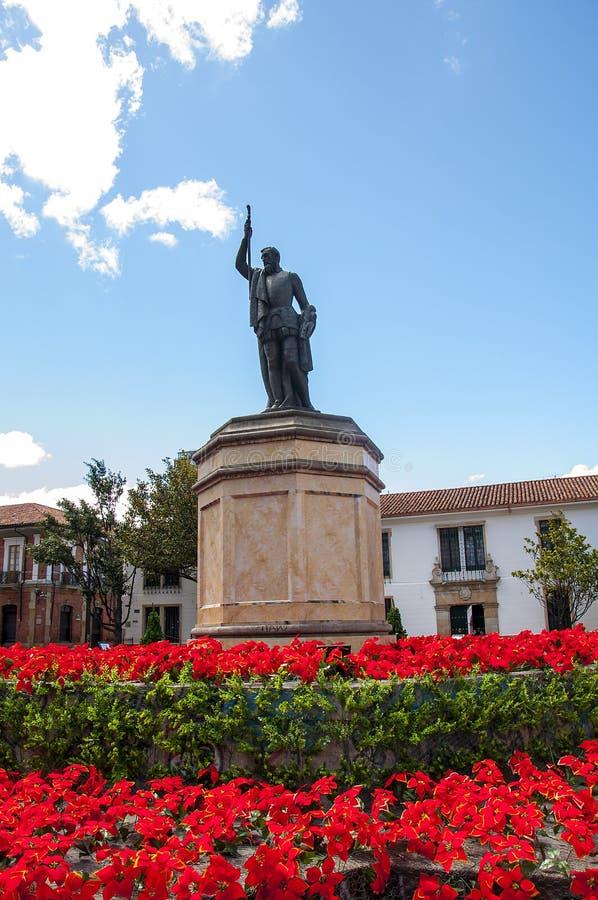 Miguel de Cervantes Saavedra royaltyfria bilder