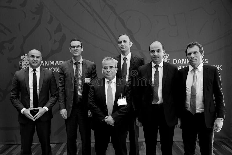 MIGUEL A IL GRUPPO DI SEGOVIANO_IMF VISITA LA DANIMARCA immagini stock libere da diritti