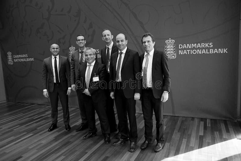 MIGUEL A IL GRUPPO DI SEGOVIANO_IMF VISITA LA DANIMARCA immagine stock libera da diritti