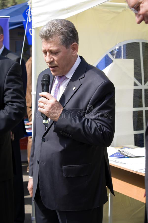 Download Mihai Ghimpu, Acting President Of Republic Moldova Editorial Image - Image: 14316660