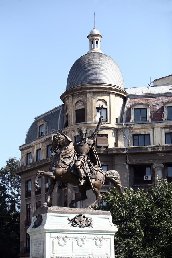 Download Mihai Viteazul statue stock image. Image of horse, bucharest - 28959853