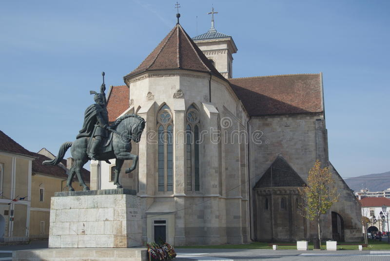 Download Mihai Viteazul Zabytek, Alba Iulia Zdjęcie Stock - Obraz złożonej z plenerowy, cytadele: 28957134