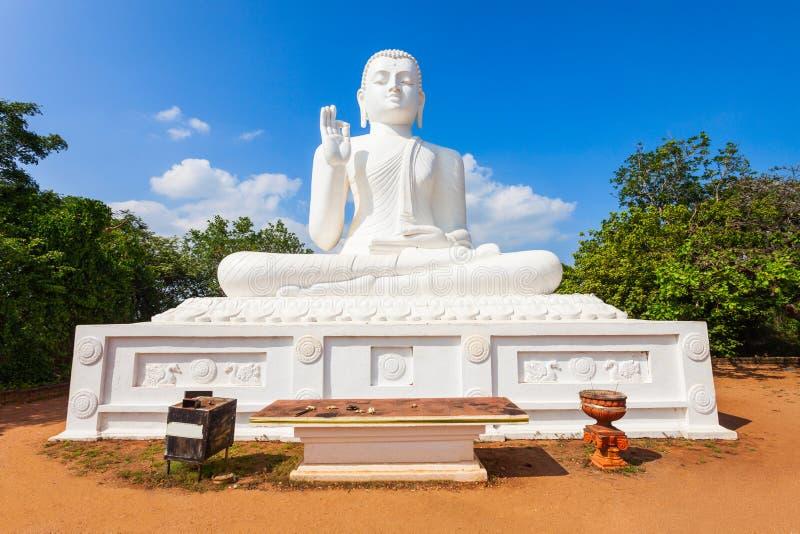 Mihintale Buddhastaty, Sri Lanka fotografering för bildbyråer