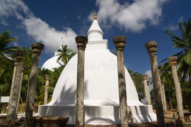 Mihintale buddhist temple royalty free stock image