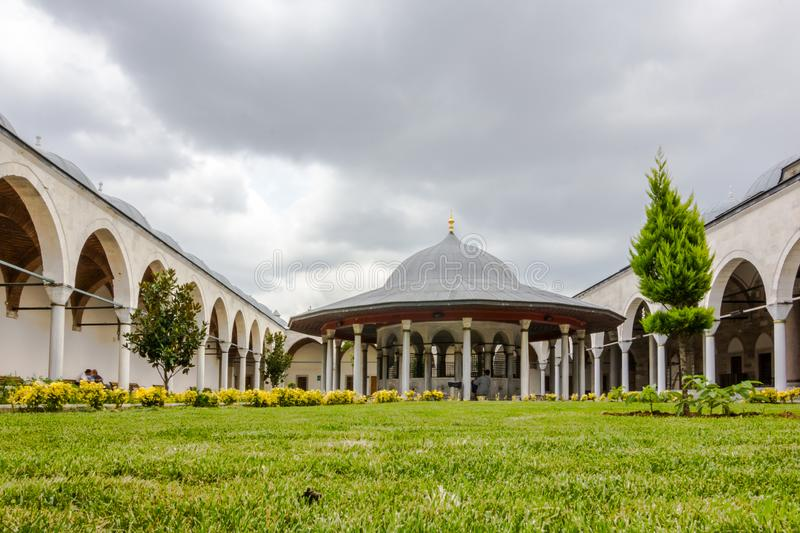 Mihrimah Sultan Mosque in istanbul, Turkey.  stock photography
