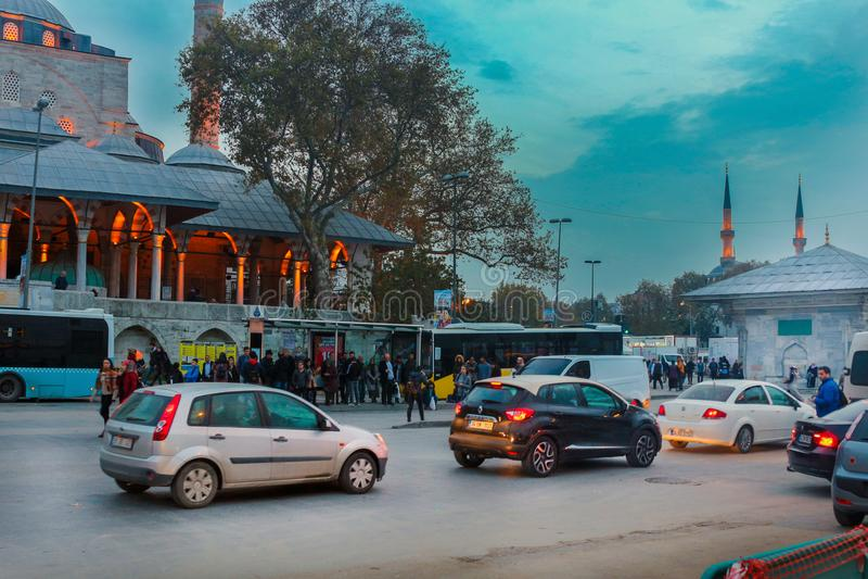 Mihrimah Sultan Mosque Uskudar Istanbul imagem de stock