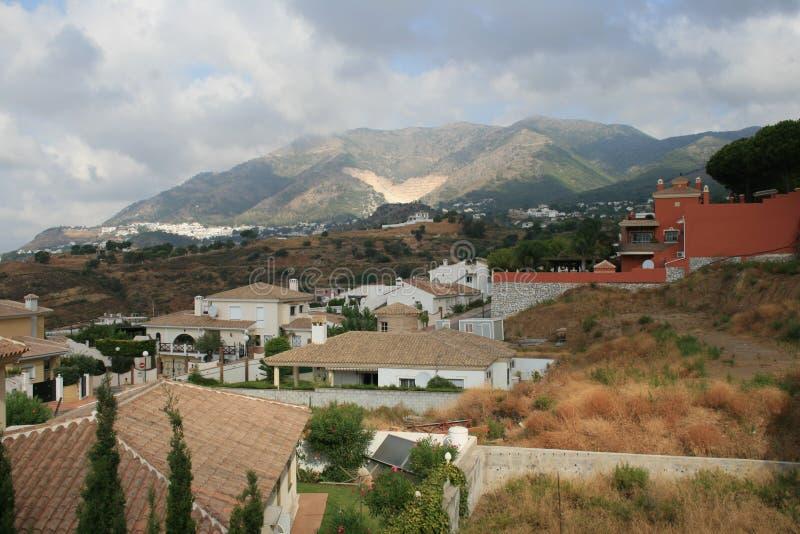 Mijas Spanien lizenzfreie stockfotografie