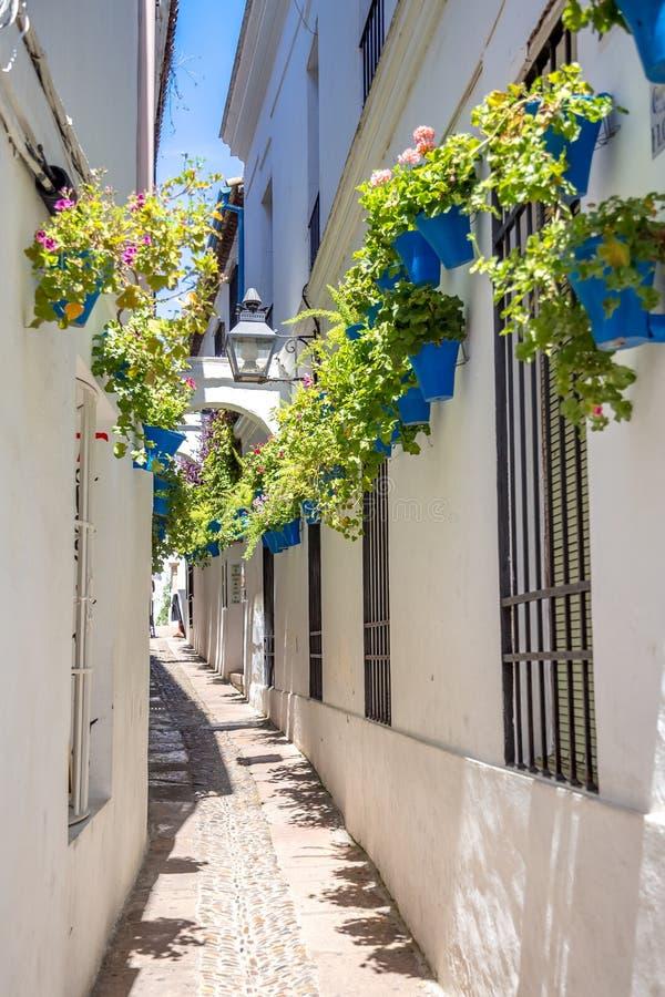 Mijas straat stock afbeelding
