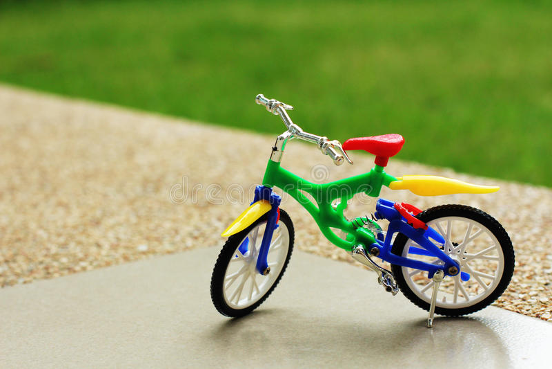 Mijn fietsstuk speelgoed royalty-vrije stock afbeelding