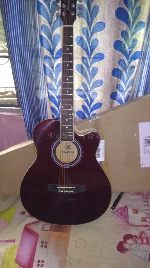 Mijn gitaar royalty-vrije stock foto