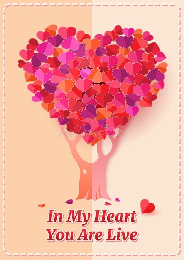 Mijn hart royalty-vrije illustratie