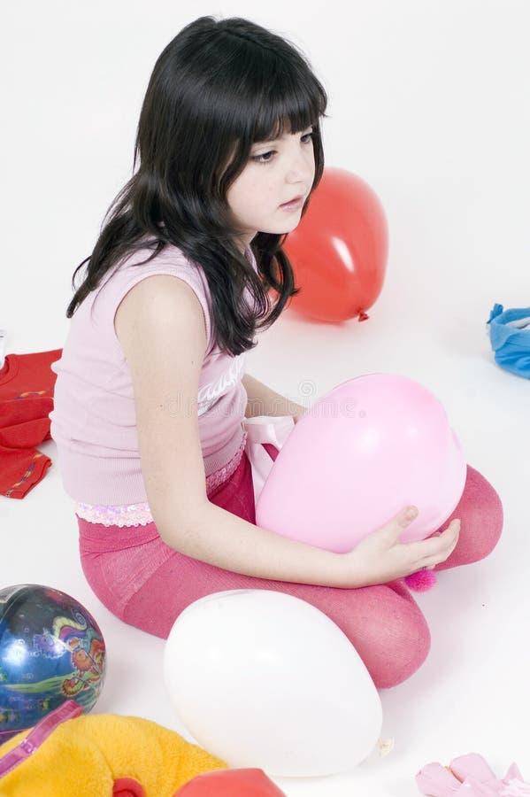 Mijn hart gevormde ballon stock foto's