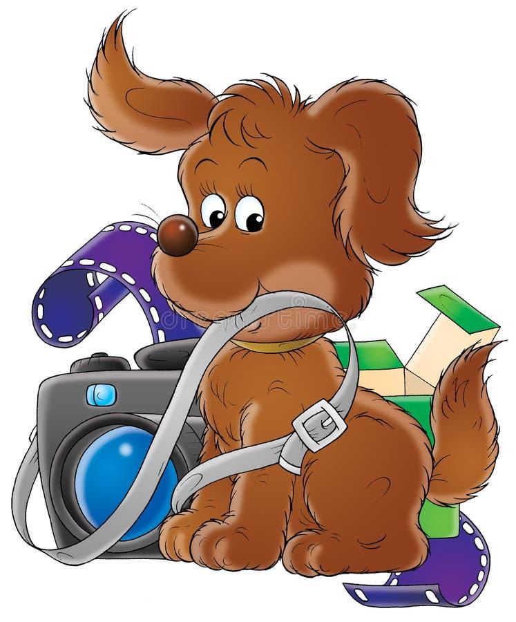 Mijn hond 005 royalty-vrije illustratie