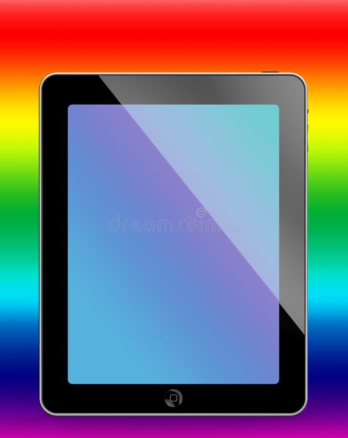Mijn iPad stock illustratie