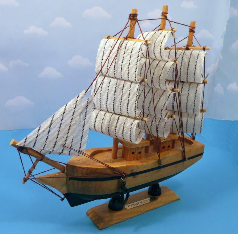 Mijn klein schip is klaar te varen royalty-vrije stock afbeeldingen