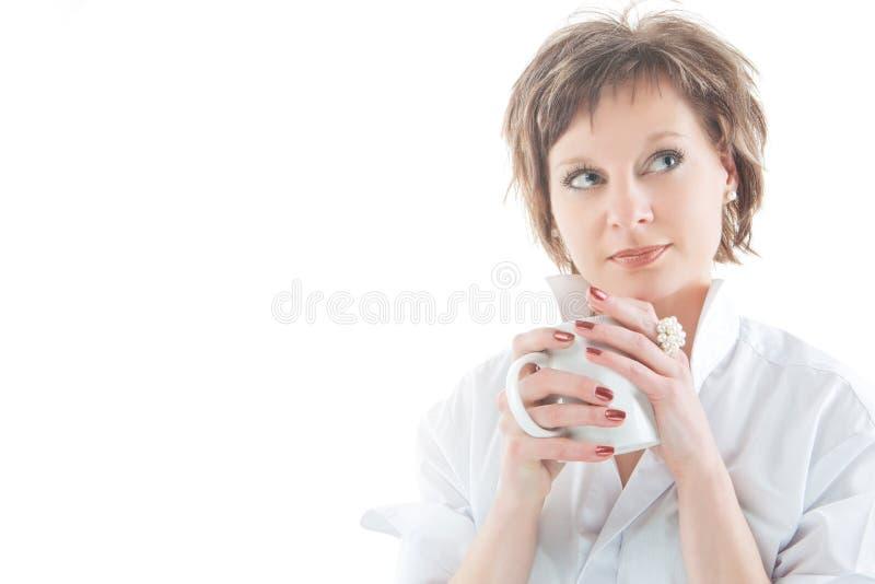 Mijn smakelijke thee stock afbeeldingen