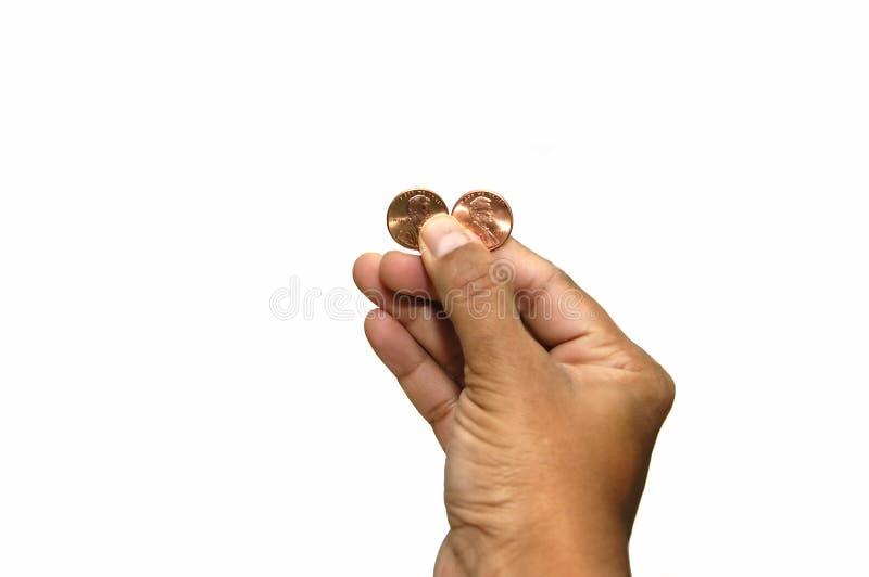 Mijn twee centen stock foto's