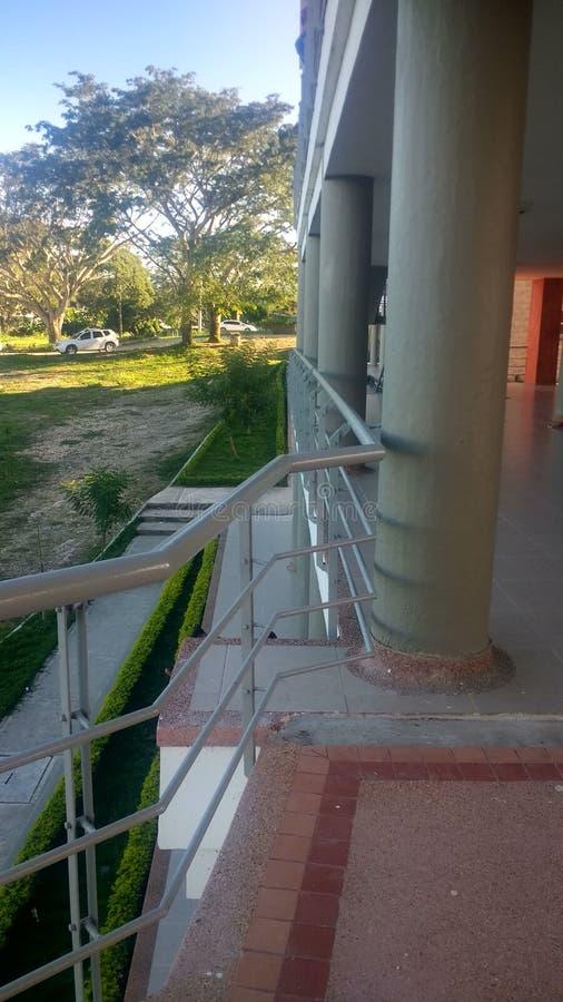 Mijn universiteit stock foto