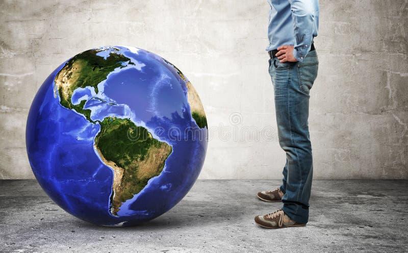 Mijn wereld stock foto