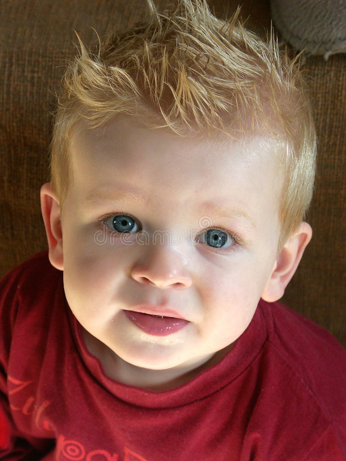 Mijn zoete zoon stock afbeelding