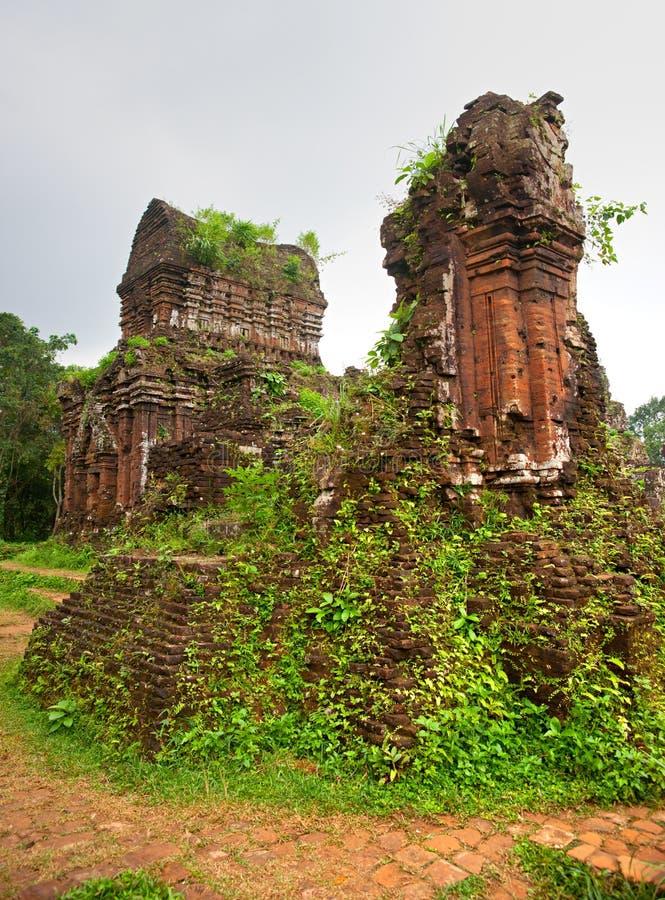 Mijn Zoon, Hoi. Vietnam stock foto