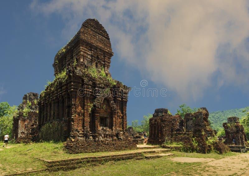 Mijn Zoonstempel in Vietnam royalty-vrije stock foto's
