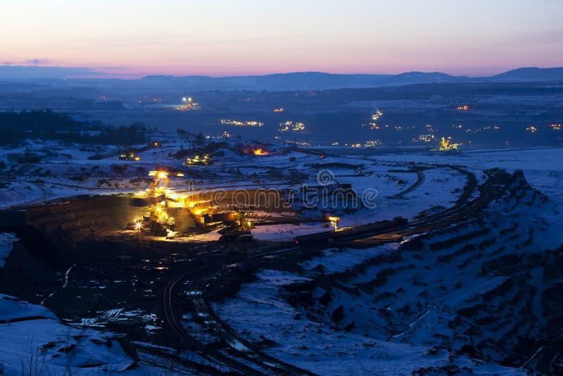 Mijnbouw stock fotografie