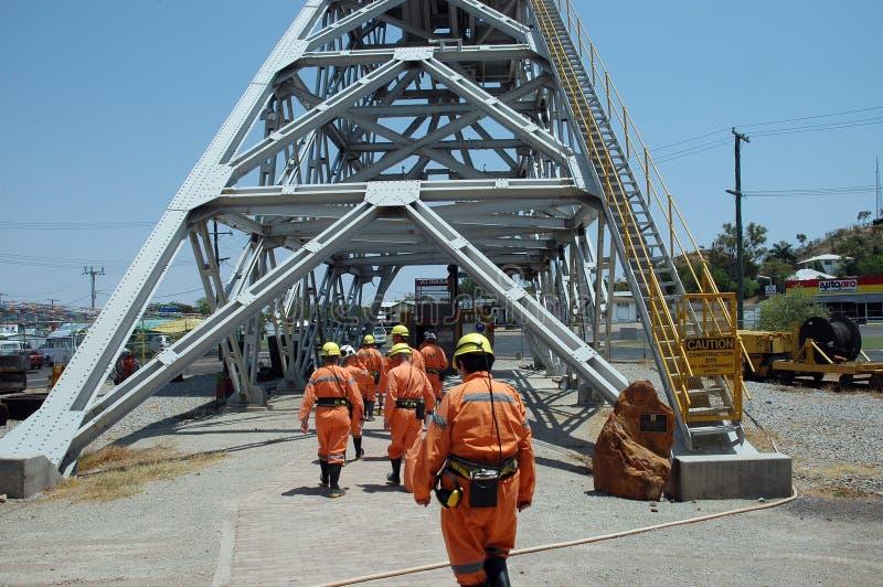 Mijnbouw. stock foto