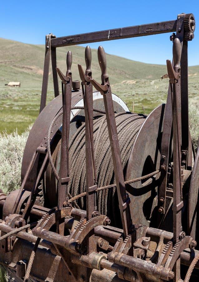 Mijnbouwhijstoestel royalty-vrije stock fotografie