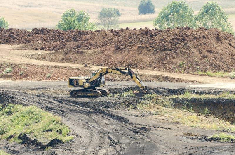 Mijnbouwverrichtingen, bouwwerf royalty-vrije stock fotografie