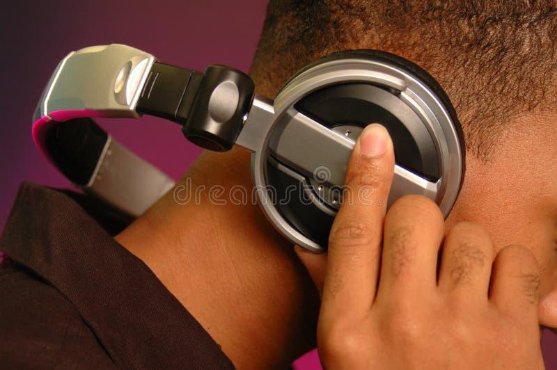 Mijnheer DJ stock foto