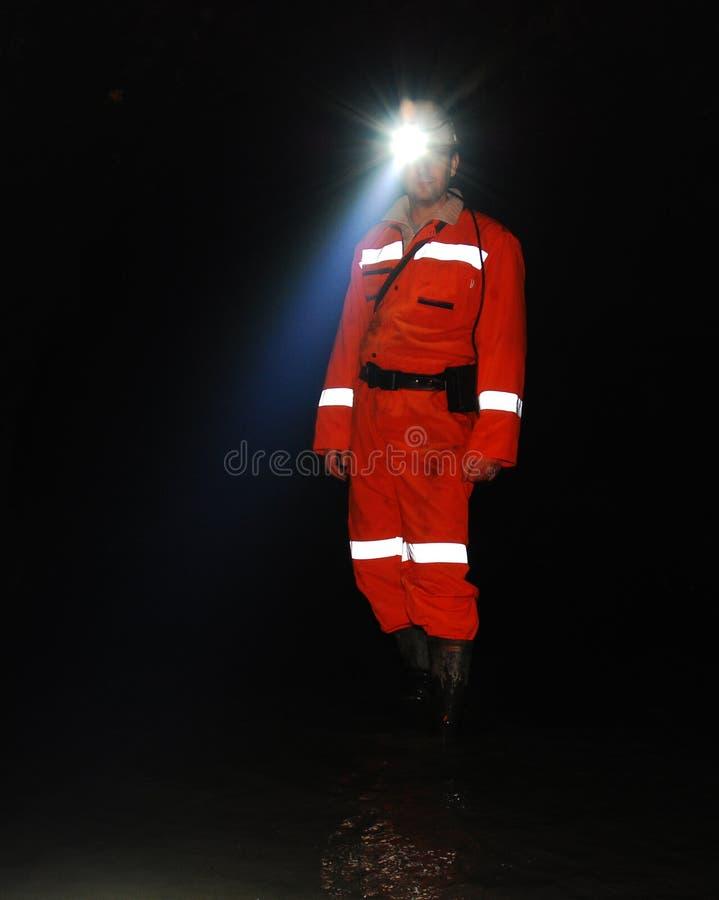 Mijnwerker stock foto