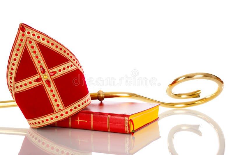Mitre The Hat Of Saint Nicholas Stock Photo Image Of Studioshoot Sinterklaas 16127268