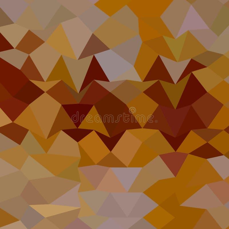 Mikado黄色抽象低多角形背景 皇族释放例证