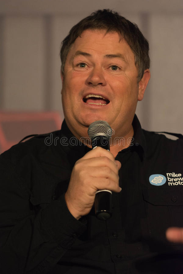 Mike Brewer Is A British Car Trader And Tv Presenter Editorial Stock ...